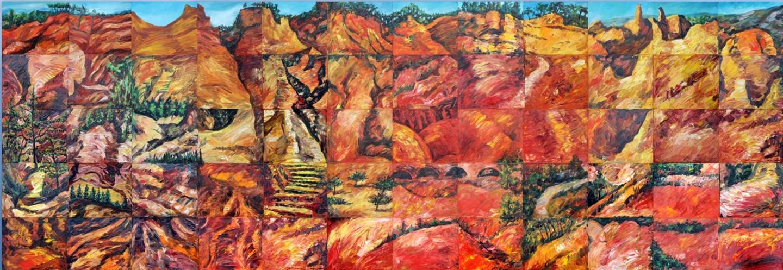 Nath Chipilova (Atelier NN art store) - Small Colorado Provencal