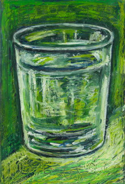Nath Chipilova (Atelier NN art store) - Ce verre est vert