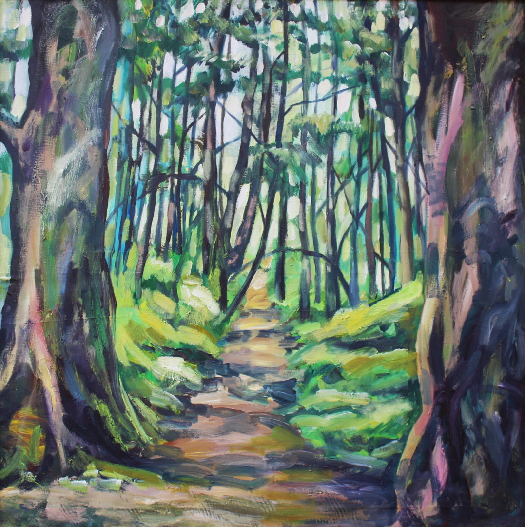 Nath Chipilova (Atelier NN art store) - Into the wood