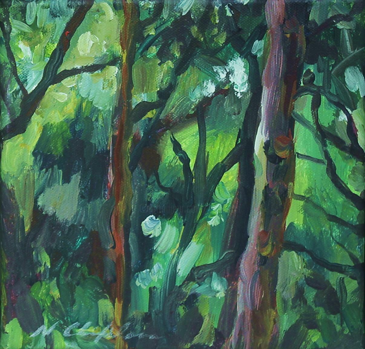 Nath Chipilova (Atelier NN art store) - Into the wood 2