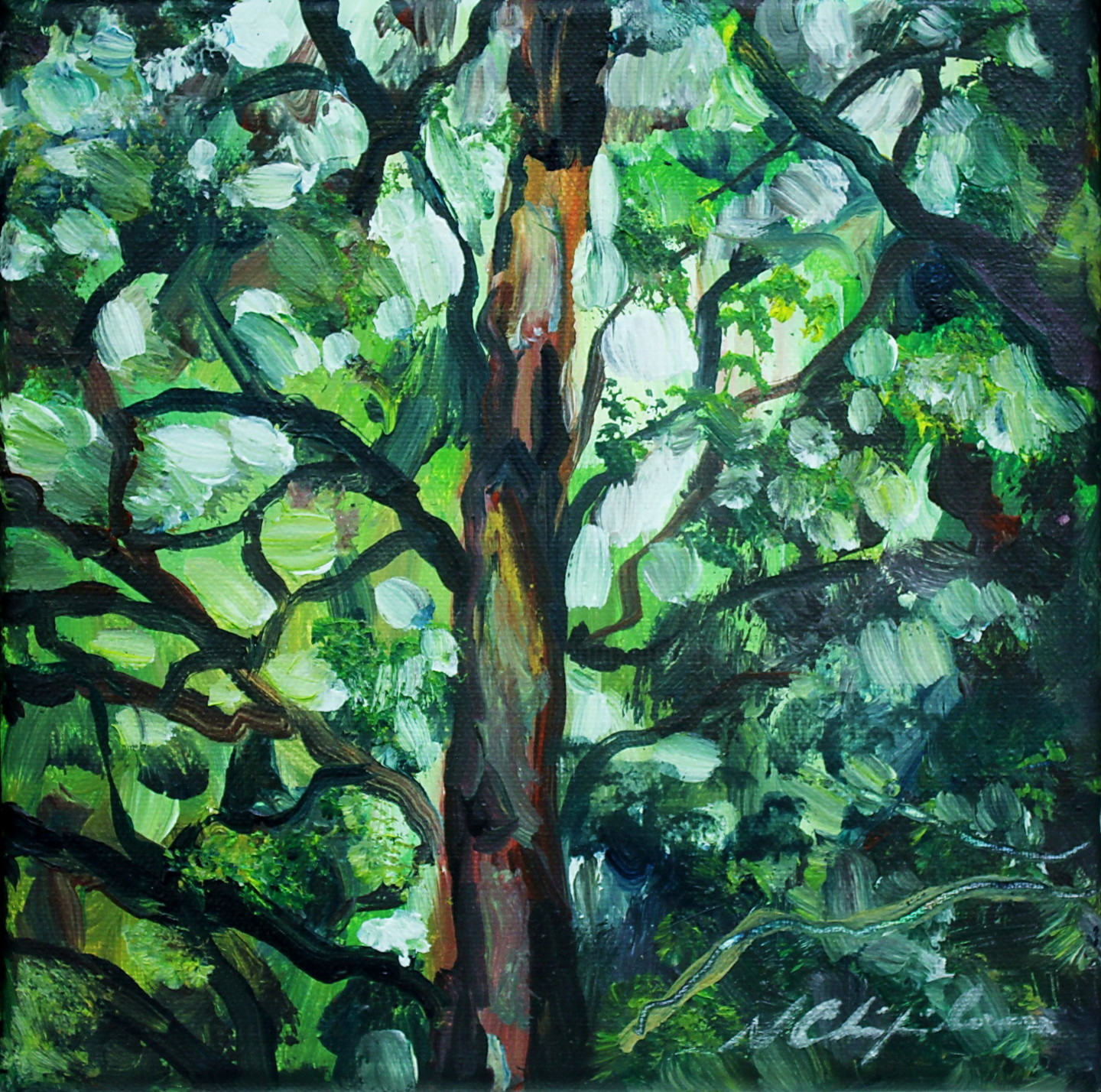 Nath Chipilova (Atelier NN art store) - Into the wood 1