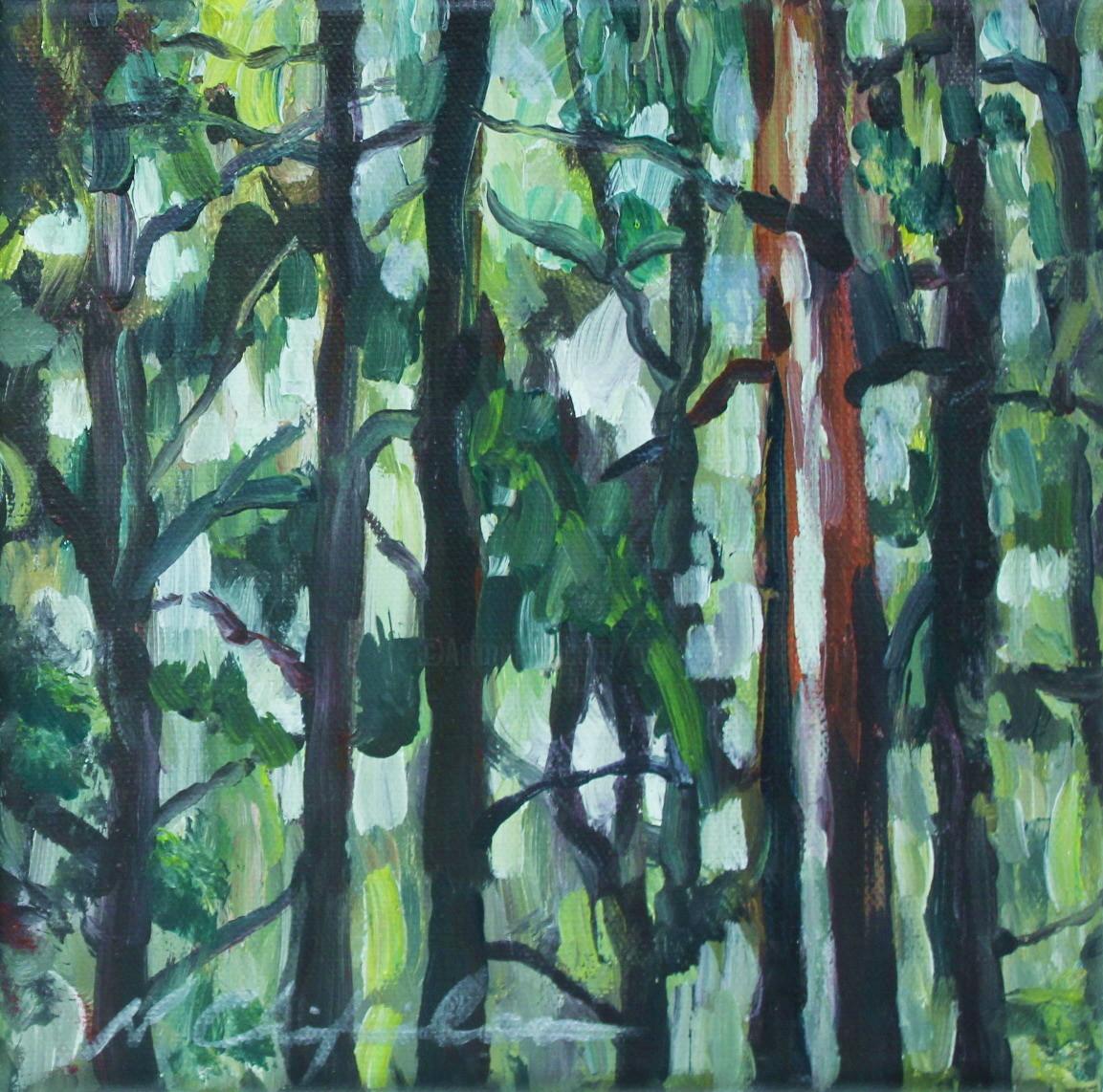 Nath Chipilova (Atelier NN art store) - Into the wood 4