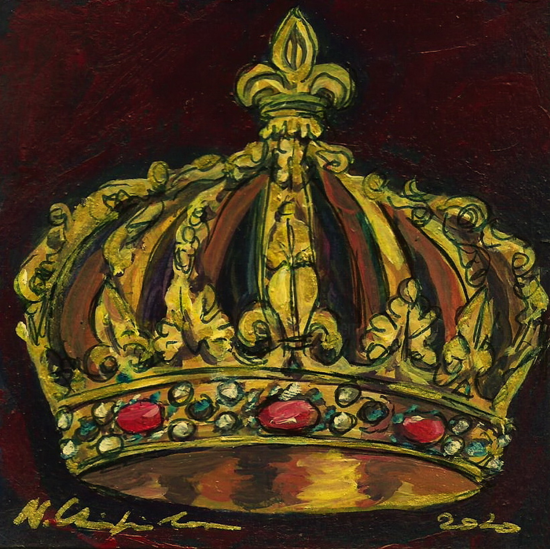 Nath Chipilova (Atelier NN art store) - Couronne d'Henri IV