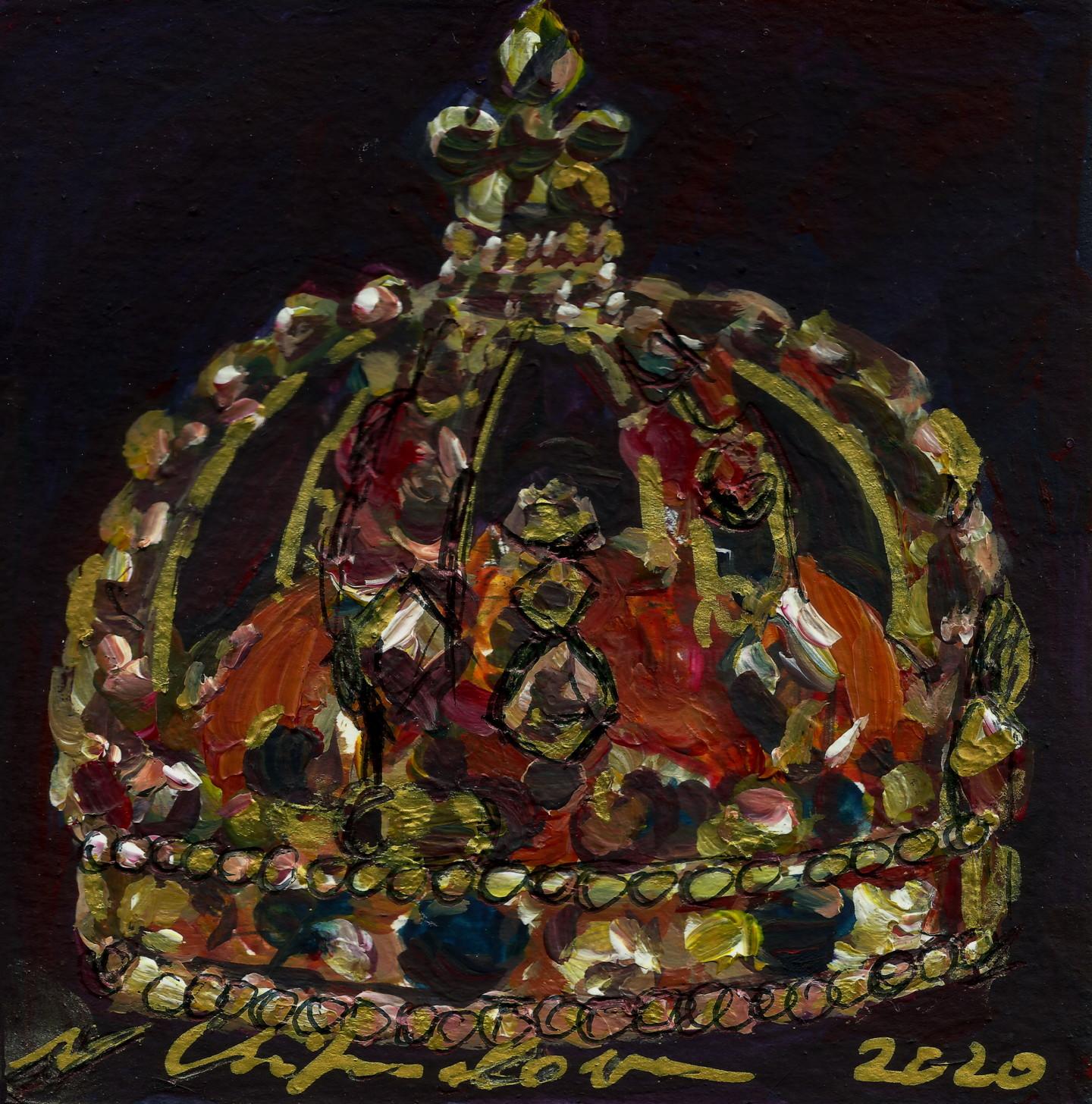Nath Chipilova (Atelier NN art store) - Couronne de Louis 15