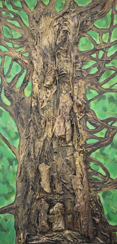 Nath Chipilova (Atelier NN art store) - Golden Tree (Part6)