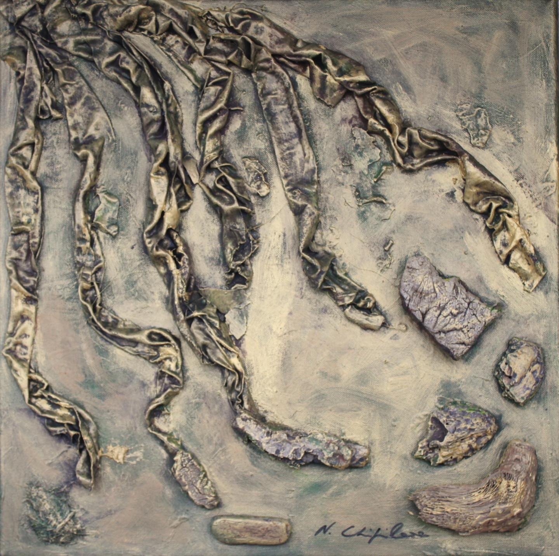 Nath Chipilova (Atelier NN art store) - Golden Tree, roots (Part3)