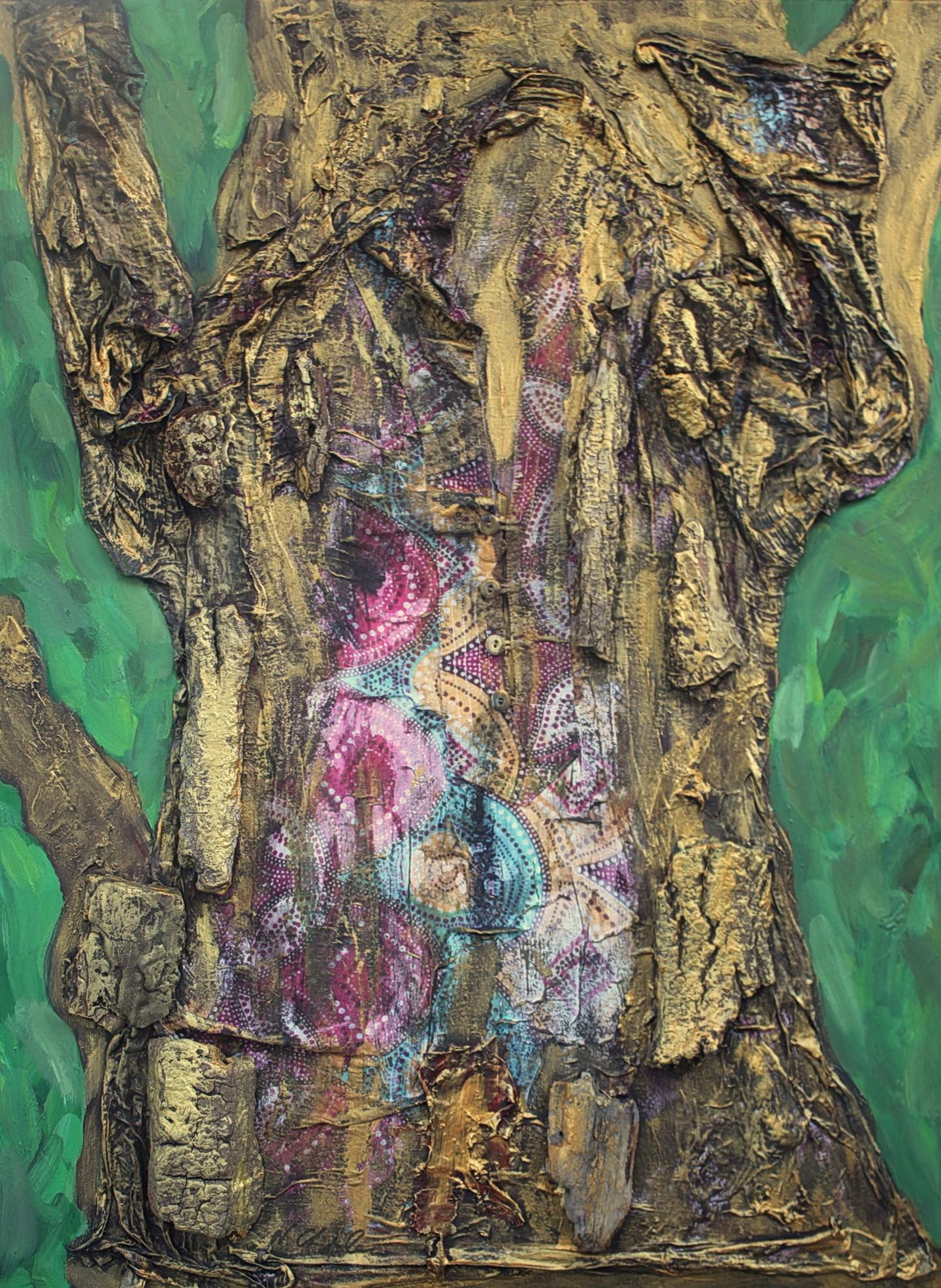 Nath Chipilova (Atelier NN art store) - Golden Shirt Tree Part 4