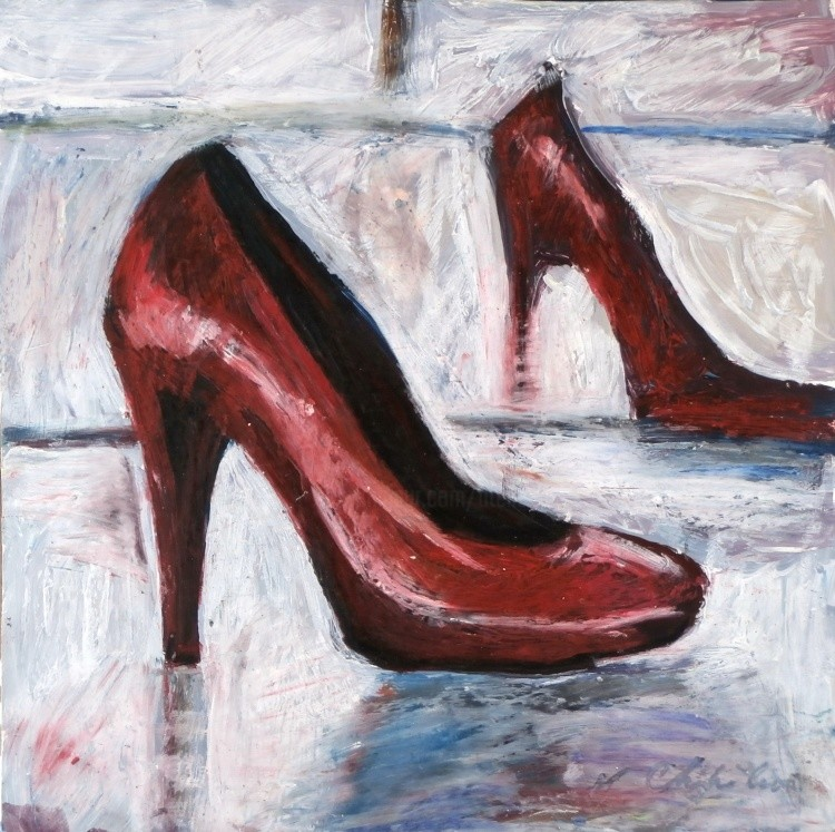 Nath Chipilova (Atelier NN art store) - Escarpin rouge