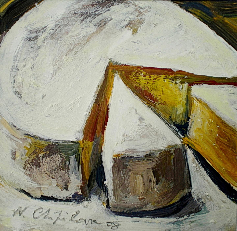 Nath Chipilova (Atelier NN art store) - Camembert 1, 15x15cm