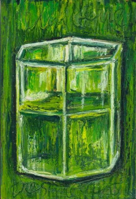Nath Chipilova (Atelier NN art store) - Un verre vert