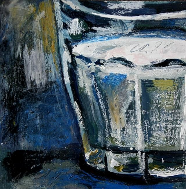 Nath Chipilova (Atelier NN art store) - Verre de lait