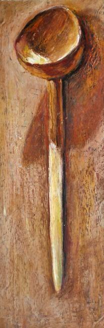 Nath Chipilova (Atelier N N art store) - Cuillère en bois