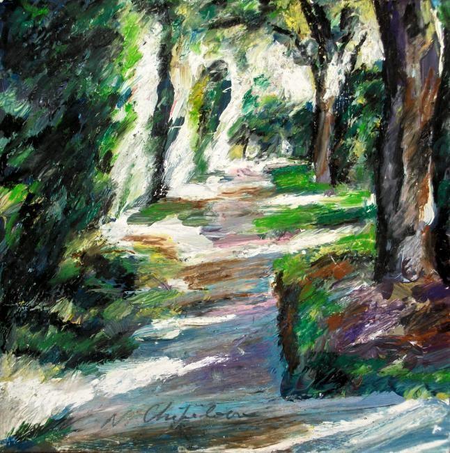 Nath Chipilova (Atelier N N art store) - Garden road