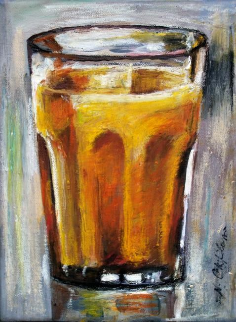Nath Chipilova (Atelier NN art store) - Orange jus