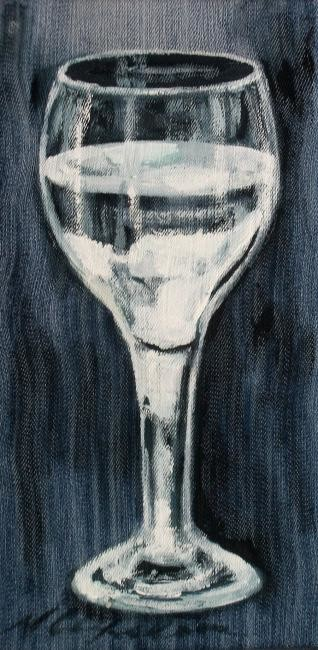 Nath Chipilova (Atelier NN art store) - Verre d'eau sur pied