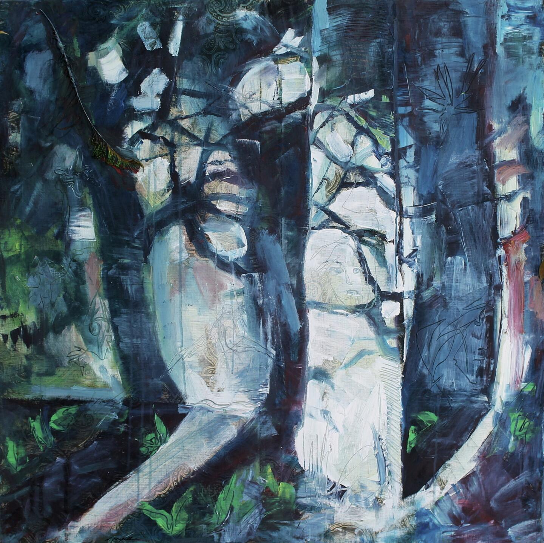 Nath Chipilova (Atelier NN art store) - In the spirit forest 1