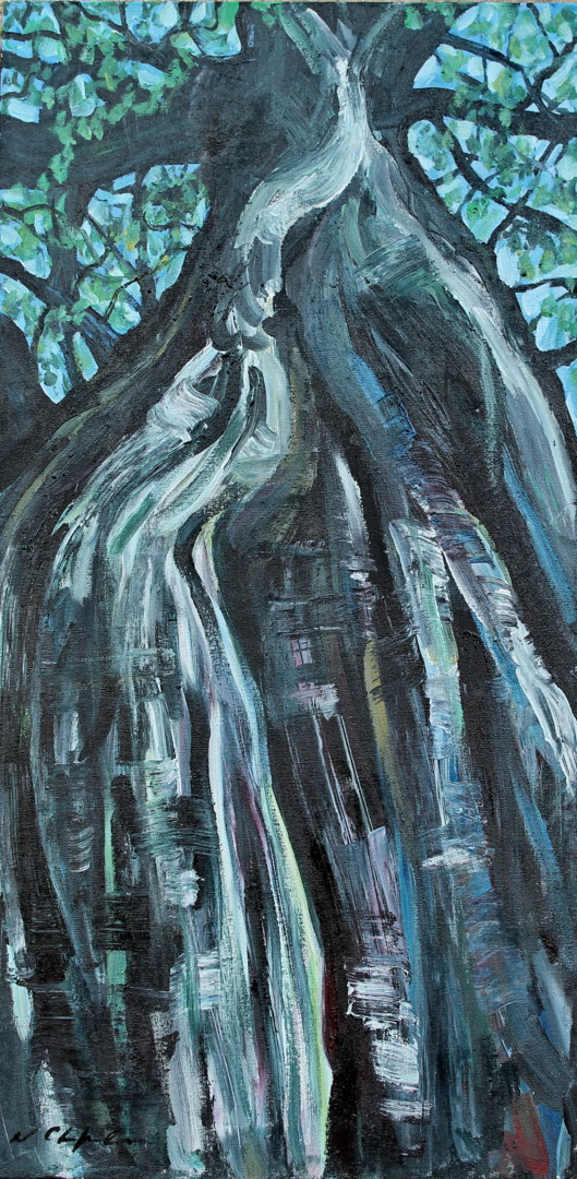 Nath Chipilova (Atelier NN art store) - Tree1