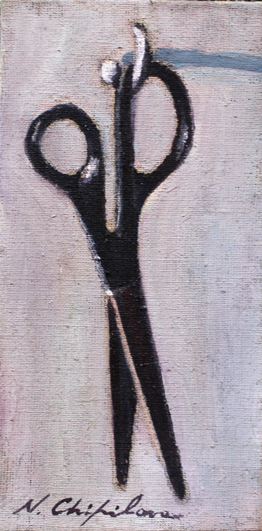 Nath Chipilova (Atelier NN art store) - Gros ciseaux