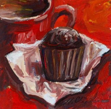 Muffin au chocolat. 16 h