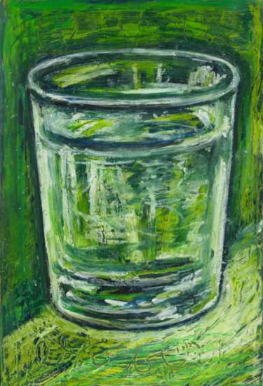 Ce verre est vert