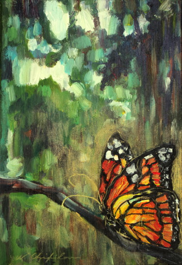 Into the wood, butterfly