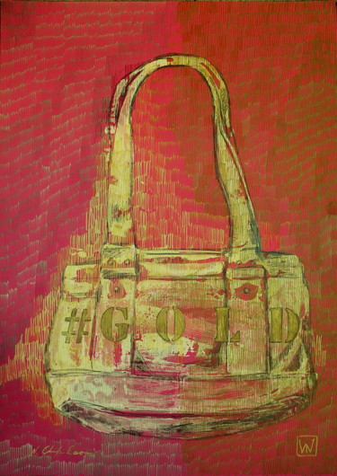 Bag Guess Gold 1