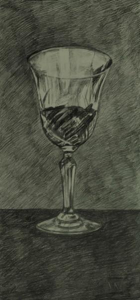 Verre de vin. Isolé. Glass wine. Alone.  #artistsupportpledg
