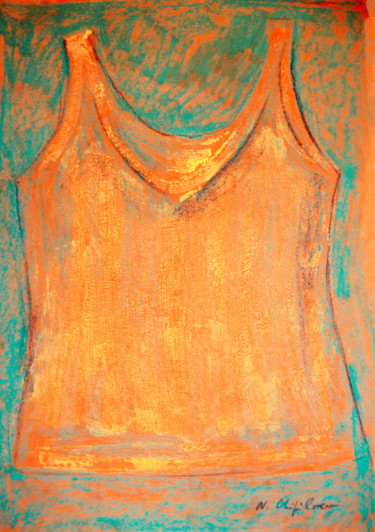 Orange Gold Undershirt 7