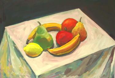 Nature morte aux fruits, hommage à Manet