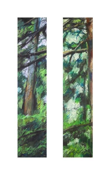 Wood, dyptique