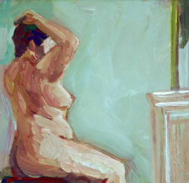 Daily. Nude in front of the mirror. 20/02/11