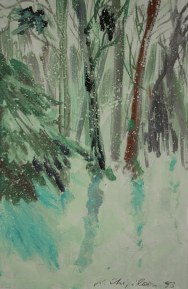 L'Hiver, forêt.
