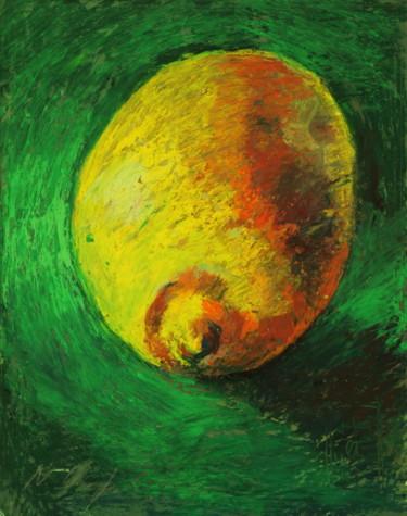 Citron sur fond vert