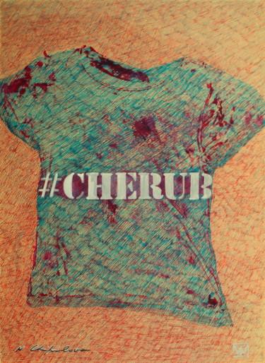 #Cherub Blue Red