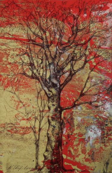 Autumn tree, Leonard de Vinci tribute