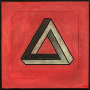 Elément Feu, 4 éléments, triangle de Penrose
