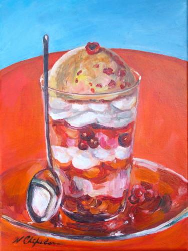 Dessert aux Fruites Rouges