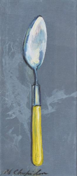 Large Yellow Handle Spoon