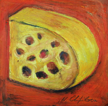 Fromage 1, 21x22cm