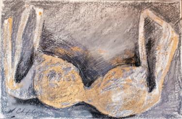 Soutien-gorge or au graphite