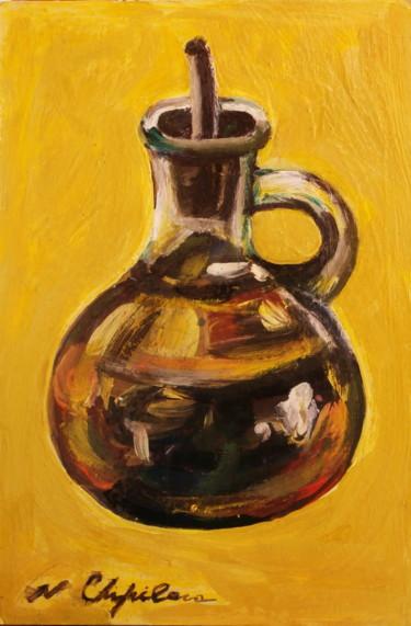 Bouteille de l'huile d'olive