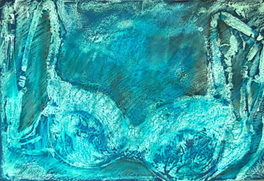 Blue ice bra
