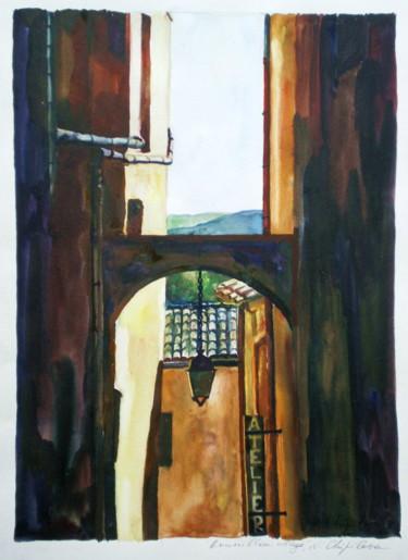 Roussillon, village