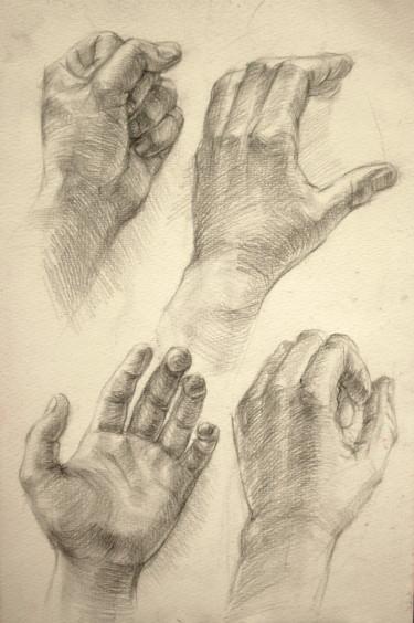 Etude de ma main gauche
