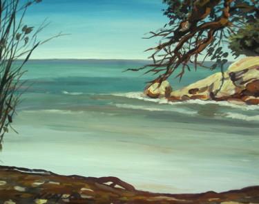 La mer et le pin