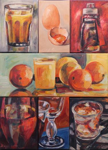 Composition, exemple de présentation 50x70 cm