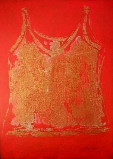 Red gold undershirt V1
