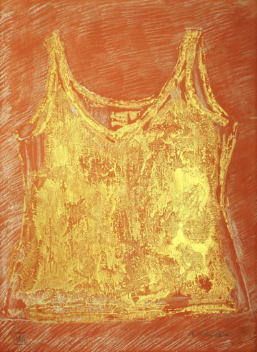 Orange gold undershirt 6