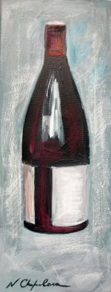 Bouteille de vin rouge 3