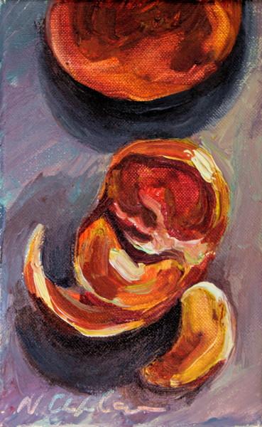 Mandarine, tranches